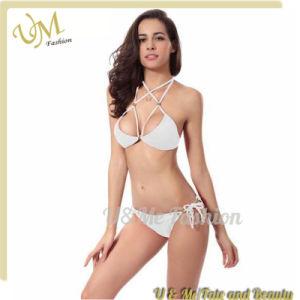 c7e81b5d75 China Sexy Quick Dry Beach Wear White Girls Bikini - China Swimwear ...