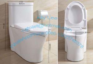 China modern design european wc siphonic ceramic sanitary ware