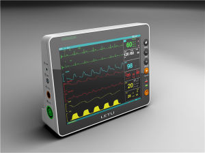 8.4 Inch Multi-Parameter Patient Monitor ECG, NIBP, SpO2, Temp, Resp, Pr Optional Printer