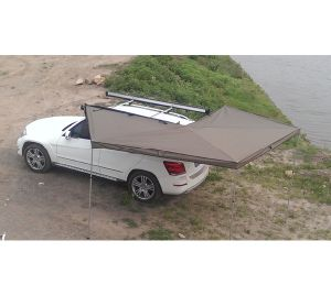 Camping 4X4 CE Canvas Awning for Car Camping pictures & photos