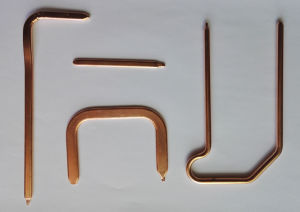 Sintered LED Hentsink Copper Heatpipe pictures & photos