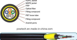 ADSS Optical Cable / All Dielectric Self-Supportingoptical Cable pictures & photos