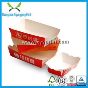 China Custom Fast Food Box Paper Hot Box For Food Storage China