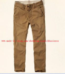 Men′s Cotton Washing Pants (PM14108) pictures & photos