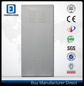 Louvered Steel Door Exterior Used in Office Stairwells Parking Garages Basements pictures & photos