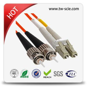 Sm 9/125um Sc/APC Optical Fibre Patch Cord/Optic Fiber Water-Proof Pigtail pictures & photos
