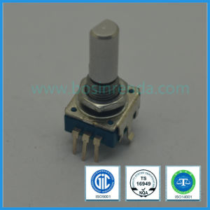 11mm Vertical blue Rotary Incremental Encoder for Audio pictures & photos