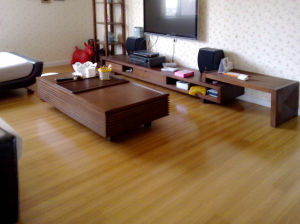 Toast Vertical HDF Bamboo Flooring pictures & photos