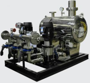 Variable Frequency Constance Pressure Water Booster System