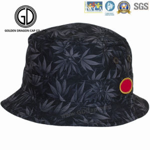 2016 Beautiful New Style Colorful Flower Pattern Cotton Bucket Hat pictures & photos