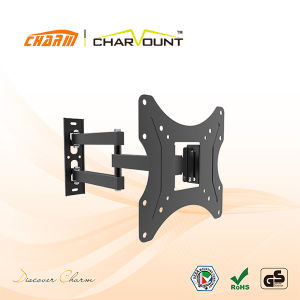 China Wholesales Cheap Swivel Wall Mount Fit for 23-42 Inch TV (CT-LCD-T701) pictures & photos