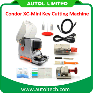 Condor Xc-Mini Master Series Automatic Key Cutting Machine Replaced Ikeycutter Condor Xc-007 with English pictures & photos