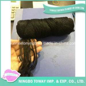 Polyester Acrylic Weaving Hand Knitting Wool Hair Yarn pictures & photos