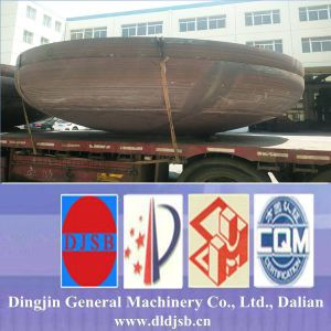 The Dish Head Manufactured by Dalian Dingjin Provide for Storage Tank pictures & photos