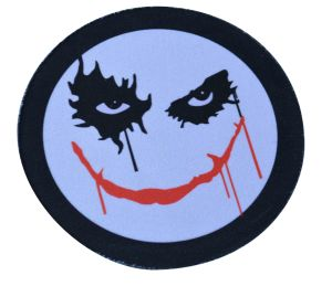 Rubber Mouse Pad Drink Coaster for Halloween Gift & Advertising