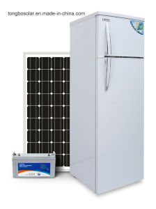 12/24V DC Compressor Solar Power Refrigerator 42L/166L pictures & photos