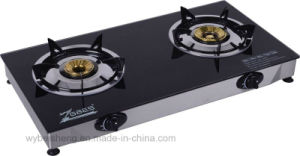 Double Burner Gas Cooker, Desktop Cooker pictures & photos