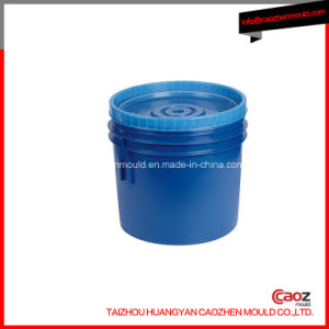 Plastic Injection Paint Bucket Molding for Putting Oils and Waters