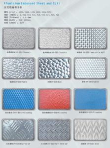 Aluminum Embossed Sheet Diamond Five Bar pictures & photos