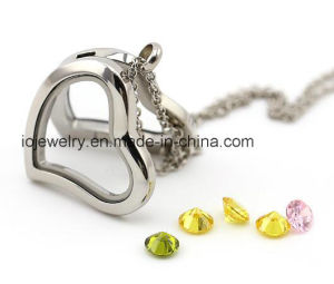 Love Heart Locket Pendant Necklace 316 Stainless Steel pictures & photos
