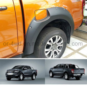 ABS Wheel Arch Fender Flares for Fender Flares for Ford Ranger T6 2015 pictures & photos