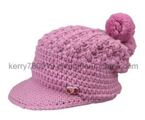 China Fashion Cap Warm Hat Fashion Hand Knitted Woolen Caps (DH ... 4bb518fdf78