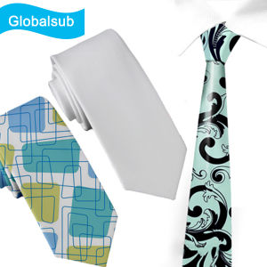 White Blank Subprint Neck Tie for Heat Press Printing