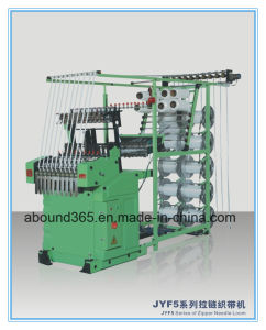 Zipper Needle Weaving Loom for Elastic Tape