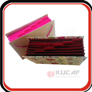 Custom Handmade Printed Paper Cardboard Office Expanding File Folder pictures & photos
