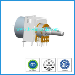 2017 New Multi Dual Rotary Potentiometer with Motor pictures & photos