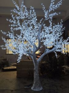 Yaye 18 Best Sell Ce/RoHS/ Outdoor/Indoor Full Whiteled High Simulation Cherry Tree with 2 Years Warranty pictures & photos