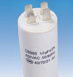 Washing Machine Capacitor with VDE, Ce, UL, RoHS Certificate pictures & photos
