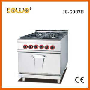 Cooking Equipment 4 Burner Lpg Gas