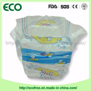 A Grade Comfortable Cloth Like Backsheet +PE Tapers Baby Diapers pictures & photos