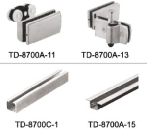 China High Quality Aluminum Folding Door Track Td-8700c-1 - China ...