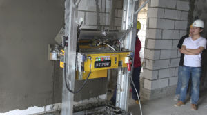Longlife Automatic Wall Gypsum Painting Machine Wall Concrete Rendering Machine For Saudi Arabia Market