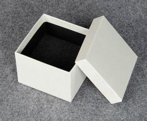 Decorative White Paper Jewelry Gift Boxes Jewellery Box