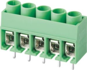 Wanjie PCB Terminal Block Connector with Right Angle Pin Header (WJ167R-5.0) pictures & photos
