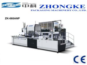 Paper Box Machine (ZK-660ANP) (Approved CE) pictures & photos