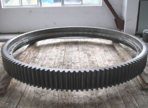 Cast Half to Half Transmission Gear Ring for Mining Mills pictures & photos