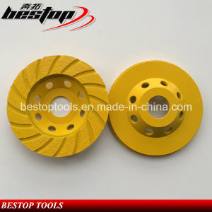 4.5 Inch 115mm Cup Grinding Disk with 22.23mm Abor pictures & photos