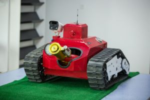 High Efficiency Fire Fighting Robot pictures & photos
