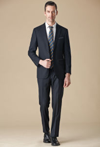 Italian Classic Black Prom Wedding Suit for Men