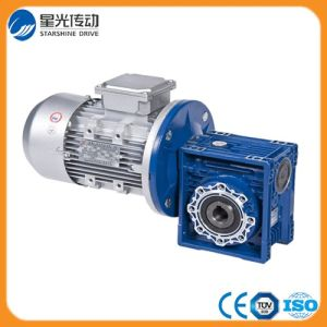 Output Hole 25mm RV050 Worm Gearbox with Motor pictures & photos