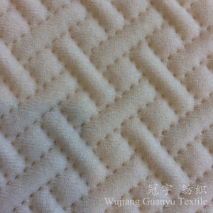 Ultra Sonic Embossed Velour for Home Decorative Cushion Cover Fabric