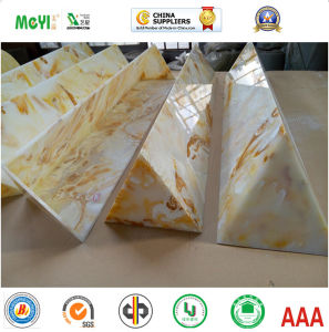 Glossy Surface Artificial Onyx for Specia Shaped Object pictures & photos