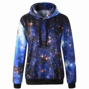 Galaxy Patterns Hoodies Print Sweaters Sweatshirts pictures & photos