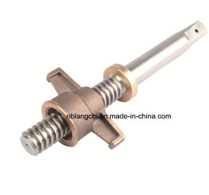 Non-Standard Set Trapezoidal Thread Lead Screw with Nut pictures & photos
