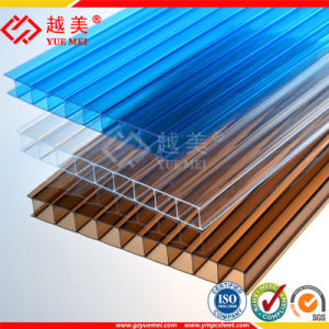 Twin-Wall Polycarbonate Hollow Sheet Greenhouse Plastic Solar Panels pictures & photos