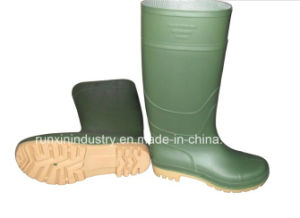 Wellington Type PVC Rain Boots 101gy pictures & photos